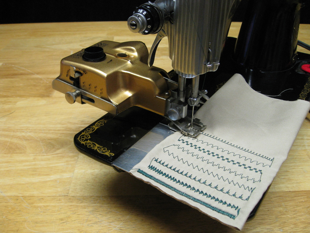 Singer Sewing Machine Automatic Zig Zag attachment Cams x 10 with book