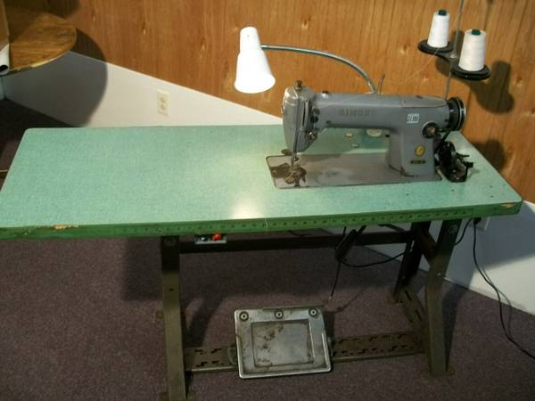 OSG Blog News Reviews HowTo's OldSewinGear Inspiration Industrial Singer Sewing Machine